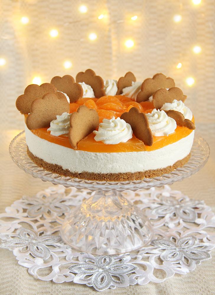 mandariini piparkoogi tort