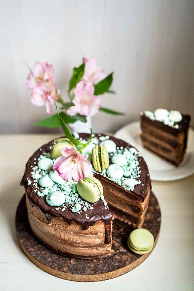 Nutella tort
